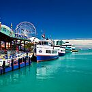 Navy Pier (Lake Michigan) by James Watkins
