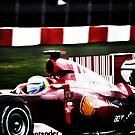 Ferrari Formula 1  by Luke Donegan