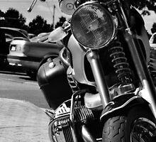 "Black ""n' White moto by Luke Donegan"