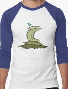 Croc Totem Men's Baseball ¾ T-Shirt
