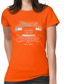 Awesome Movie Car Christine Womens Fitted T-Shirt