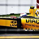 Formula 1 cars by Luke Donegan