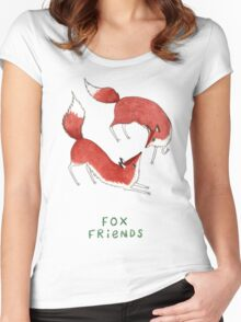 Fox Friends Women's Fitted Scoop T-Shirt