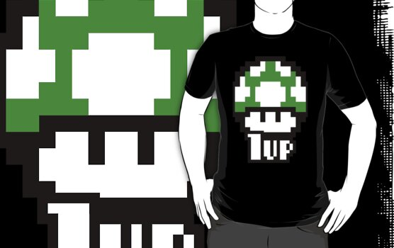 1up by anguishdesigns