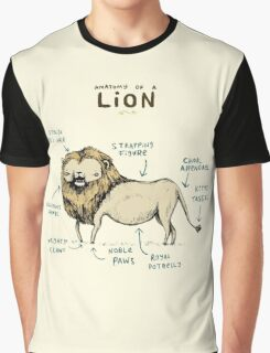 Anatomy of a Lion Graphic T-Shirt