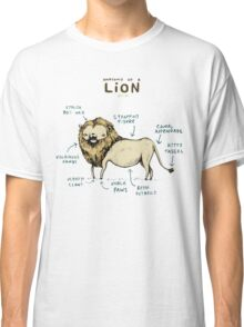 Anatomy of a Lion Classic T-Shirt