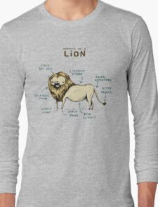 Anatomy of a Lion Long Sleeve T-Shirt