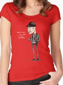 Leonard Cohen Women's Fitted Scoop T-Shirt