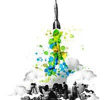 Blast off! by Budi Satria Kwan