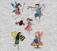 Fairies One Piece - Short Sleeve