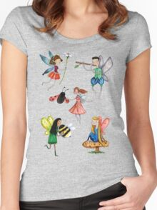 Fairies Women's Fitted Scoop T-Shirt