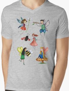 Fairies Mens V-Neck T-Shirt