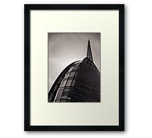 The Bell Tower Rising Framed Print