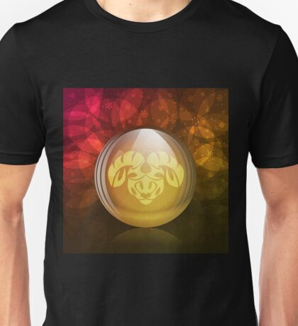 Luminescent snow globe Unisex T-Shirt