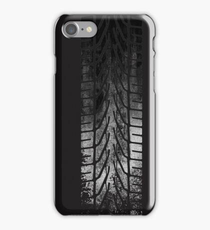 CAR Skid Mark  iPhone Case/Skin