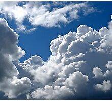 White Clouds over Gothenburg Photographic Print