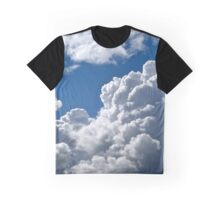 White Clouds over Gothenburg Graphic T-Shirt