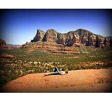 Immersed in Sedona Photographic Print