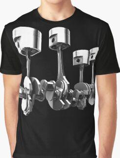 Car Engine pistons - Awesome 3D transparent design   Graphic T-Shirt