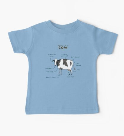 Anatomy of a Cow Baby Tee