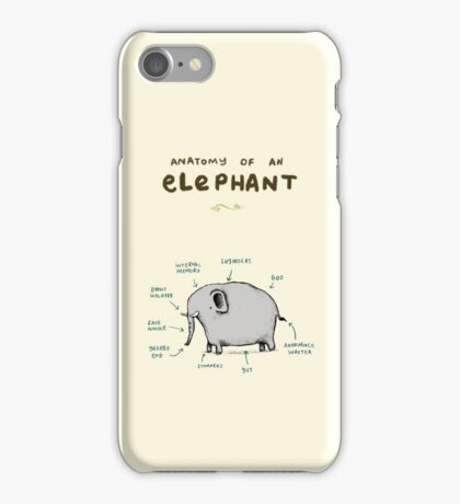 Anatomy of an Elephant iPhone Case/Skin