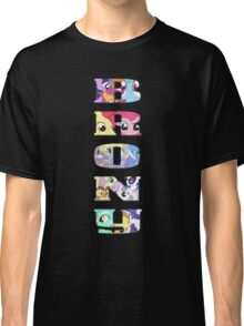 Brony Collage Classic T-Shirt