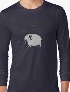 Anatomy of an Elephant Long Sleeve T-Shirt