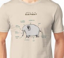 Anatomy of an Elephant Unisex T-Shirt