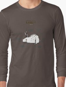 Anatomy of a Rabbit Long Sleeve T-Shirt
