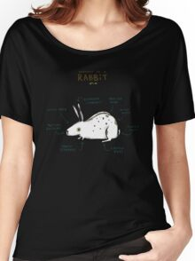 Anatomy of a Rabbit Women's Relaxed Fit T-Shirt