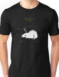 Anatomy of a Rabbit Unisex T-Shirt