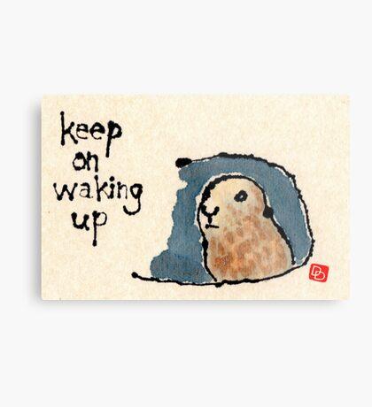 Groundhog Wisdom Metal Print