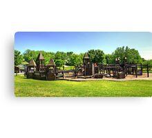 Castle Playground Canvas Print
