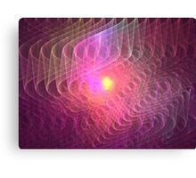 Lightwaves Canvas Print