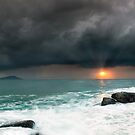 Terrigal Storm by Dave  Gosling Designs
