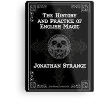 Johnathan Strange & Mr Norrell Book Design Metal Print