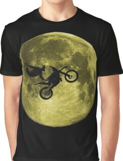 Awesome Freestyle in da moon - Motocross MX  Graphic T-Shirt