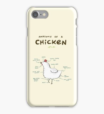 Anatomy of a Chicken iPhone Case/Skin