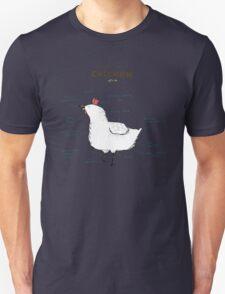 Anatomy of a Chicken T-Shirt