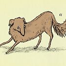 Playful Dog by Sophie Corrigan