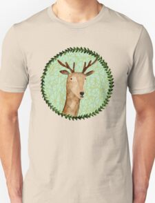 Deer Portrait T-Shirt