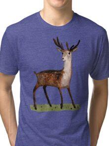 Deer in the Woods Tri-blend T-Shirt