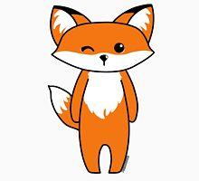 Cute little fox Women's Fitted Scoop T-Shirt