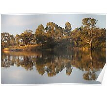 River Murray Reflections #2 Poster