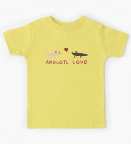 Axolotl Love Kids Tee