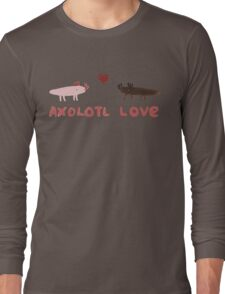 Axolotl Love Long Sleeve T-Shirt