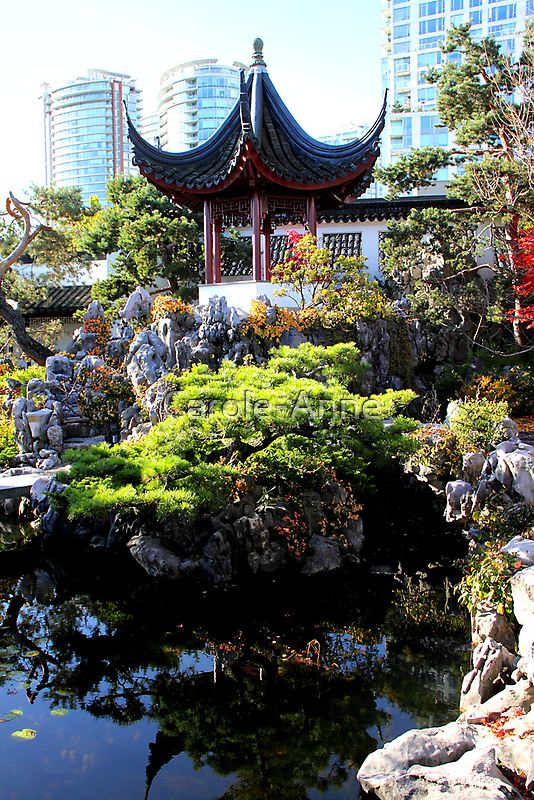 Chinese Pavillion by Carole-Anne