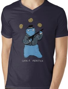 Cookie Mobster Mens V-Neck T-Shirt