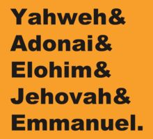The Names of God by heroics