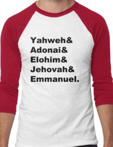 The Names of God Men's Baseball ¾ T-Shirt